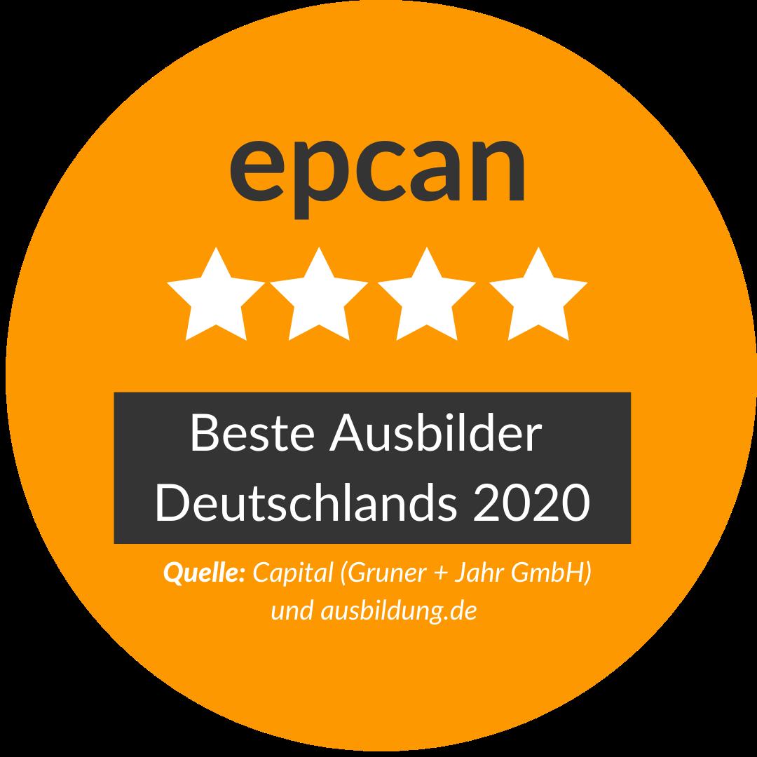 Deutschland beste Ausbilder - epcan GmbH
